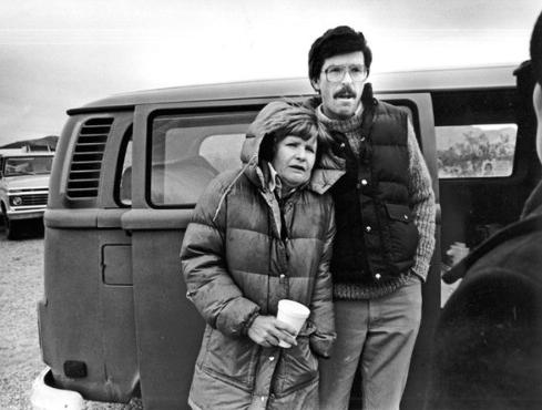 Patty and Mike Bradbury, November 1984