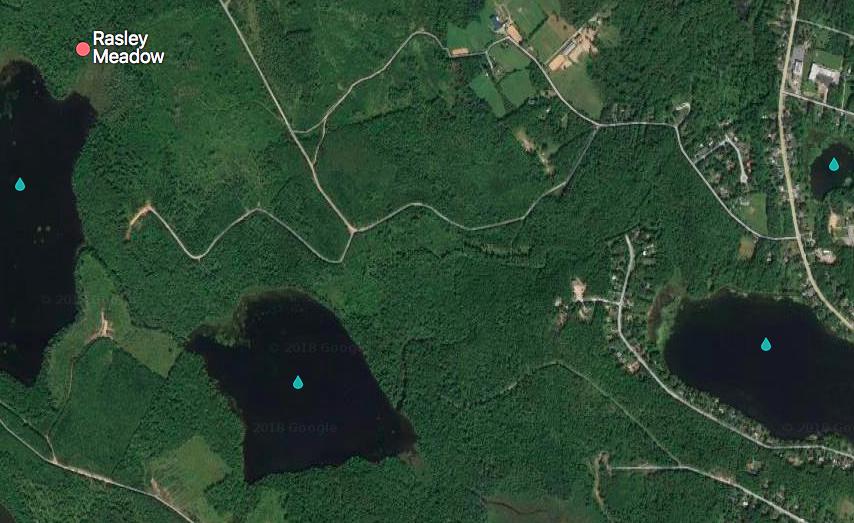 Tucker lake to Rasley Meadow