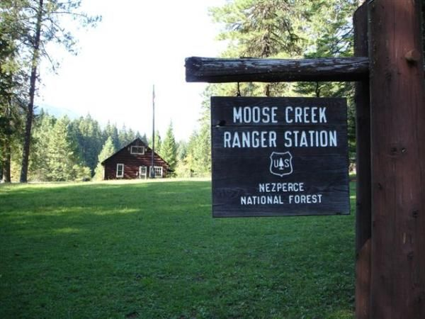 Moose creek ranger station, Idaho