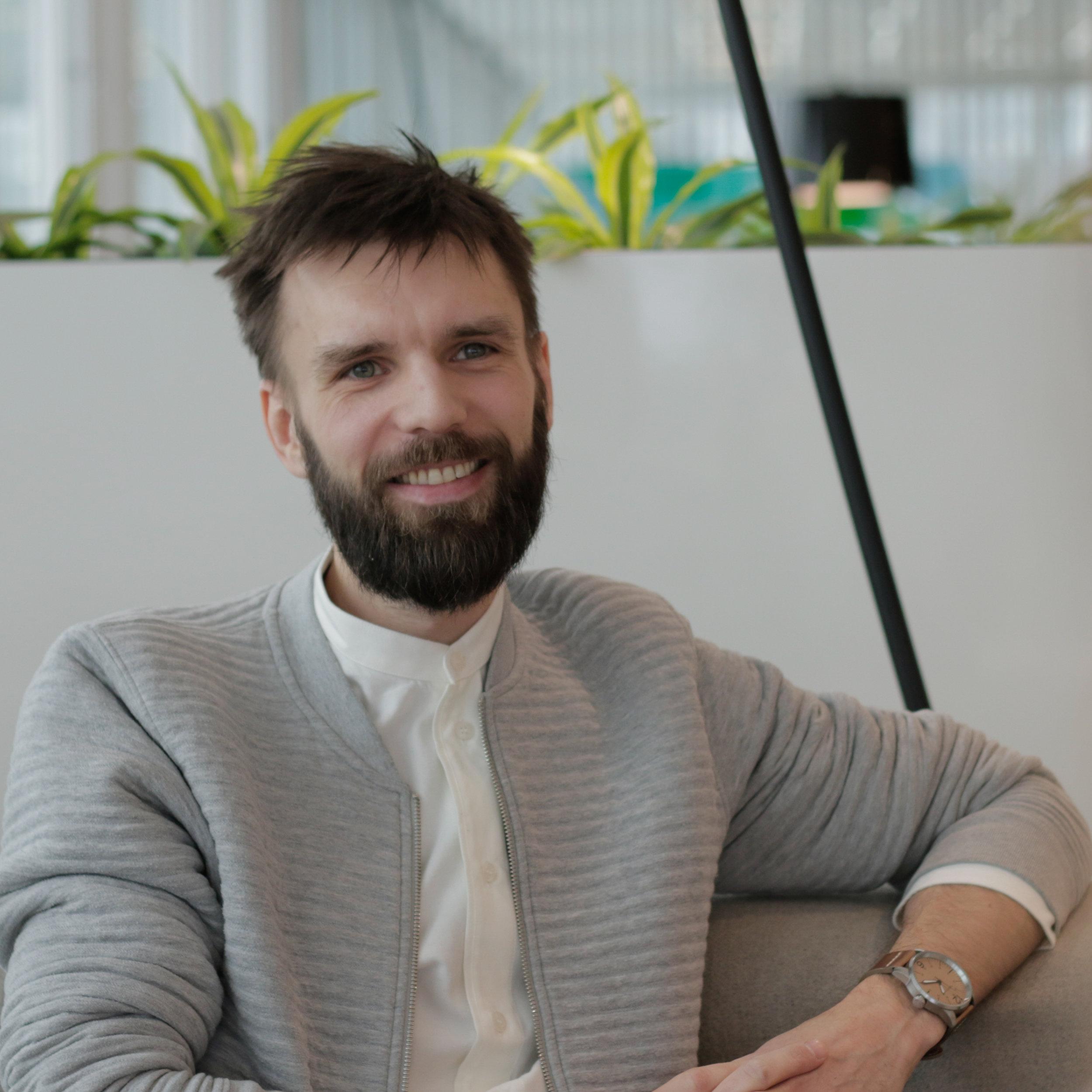Alf Kristian Kåring, psykolog och pedagog, jobbar inom gamefication.