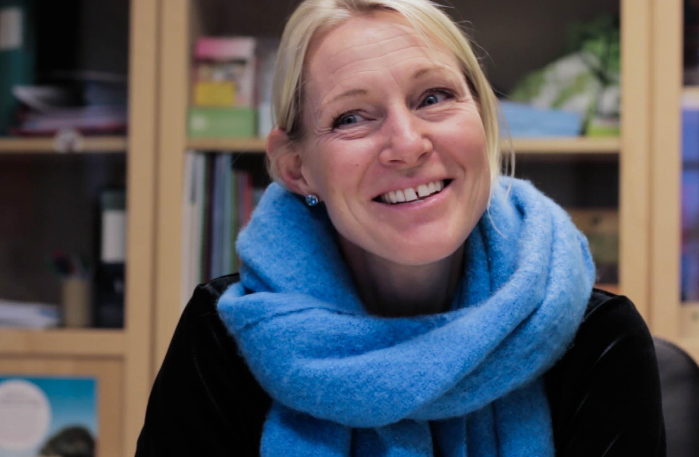 Maria Björsell, Speciallärare på Grantomta Montessoriskola och läromedelsförfattare.