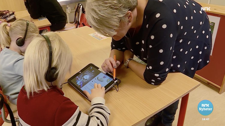 Ine Berit Mjølnerød tycker det ska bli spännande att se hur Poio påverkar inlärningen.