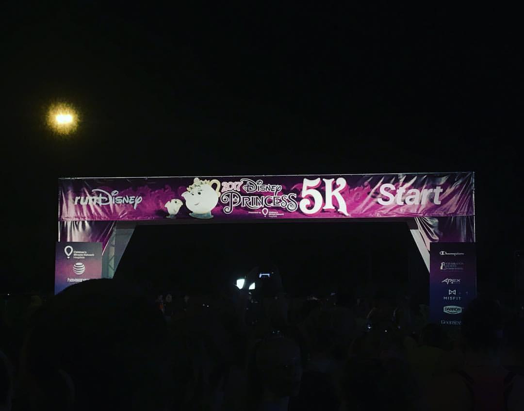 5k start line. Let's do it!