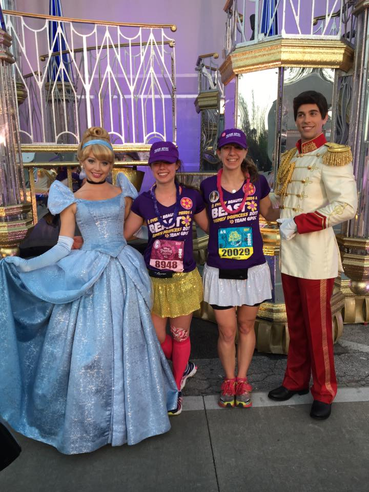 Cinderella & Prince Charming.