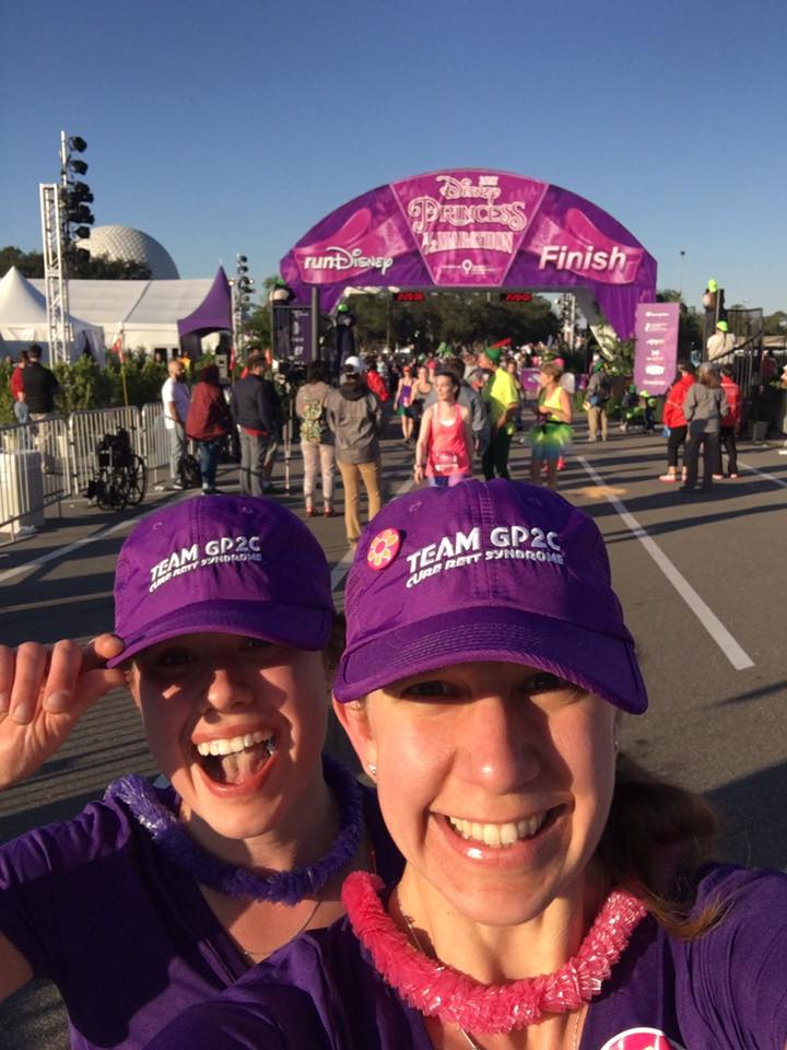 Post finish line smiles. We did it!