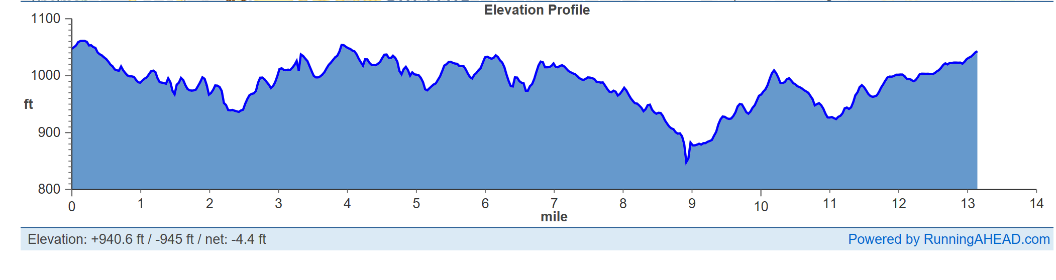 That hill at mile 9 was no joke ya'll.
