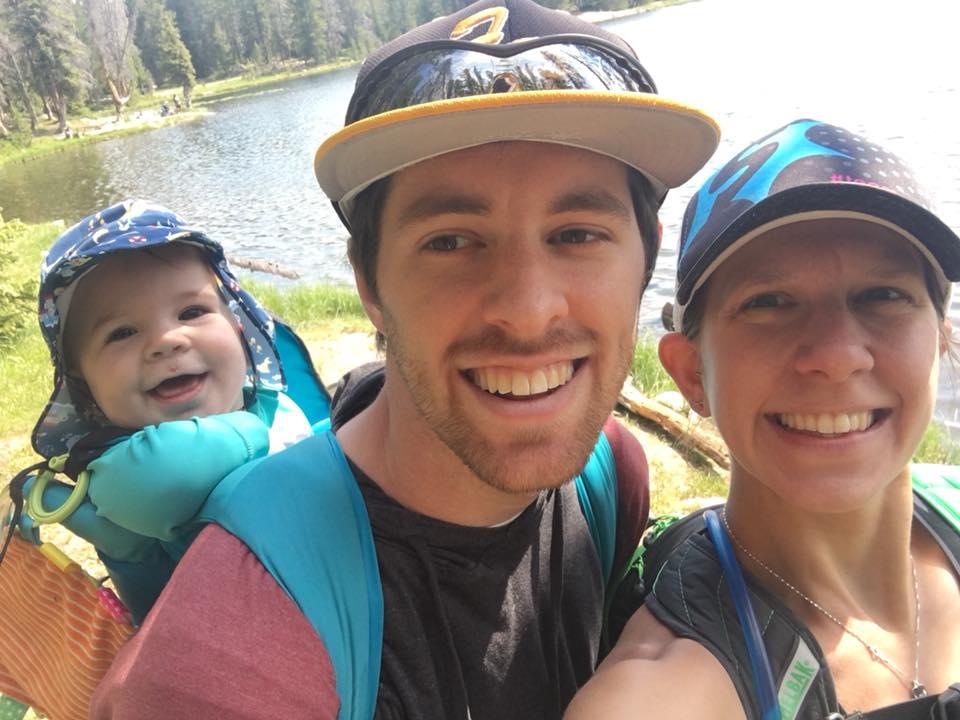 Parker loved hiking!