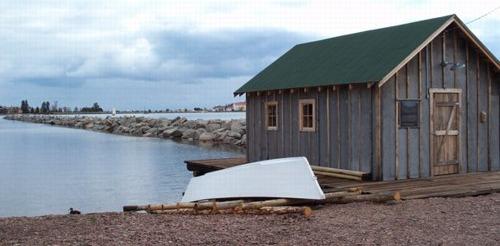 Fish House & Tug the Neegee -