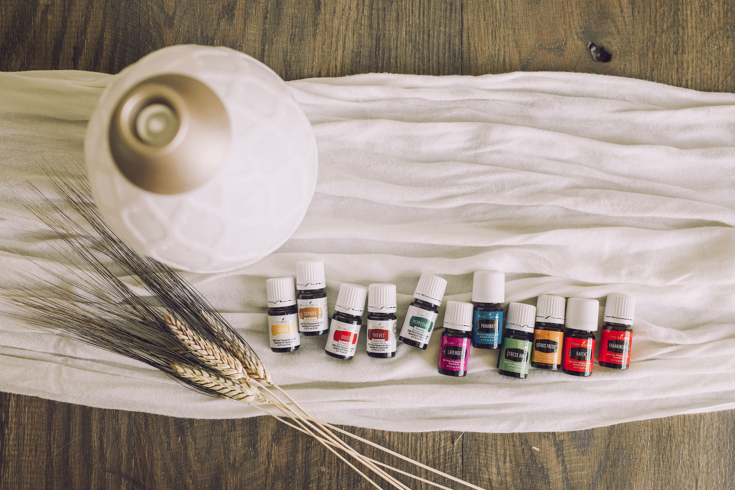 Essential Oils - our story + info