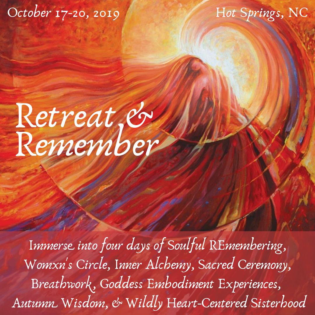 Retreat & Remember ~ Sacred Circle Immersion — Jessica Ricchetti