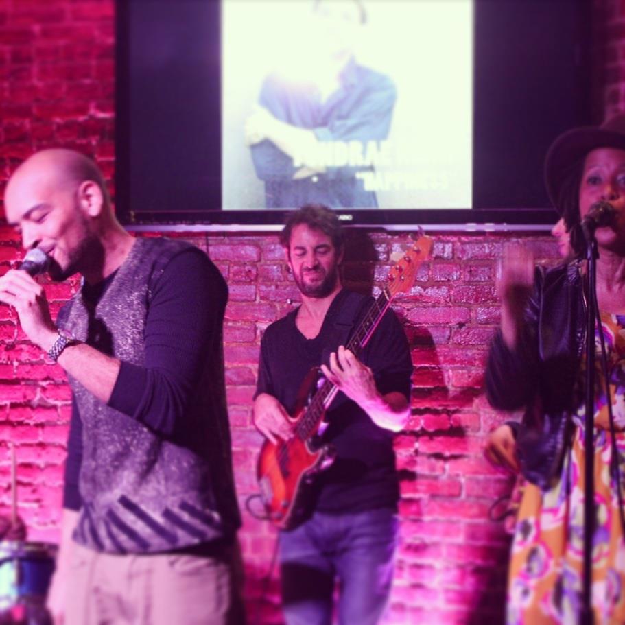 w/ Tondrae Kemp, Brooklyn, New York 2012