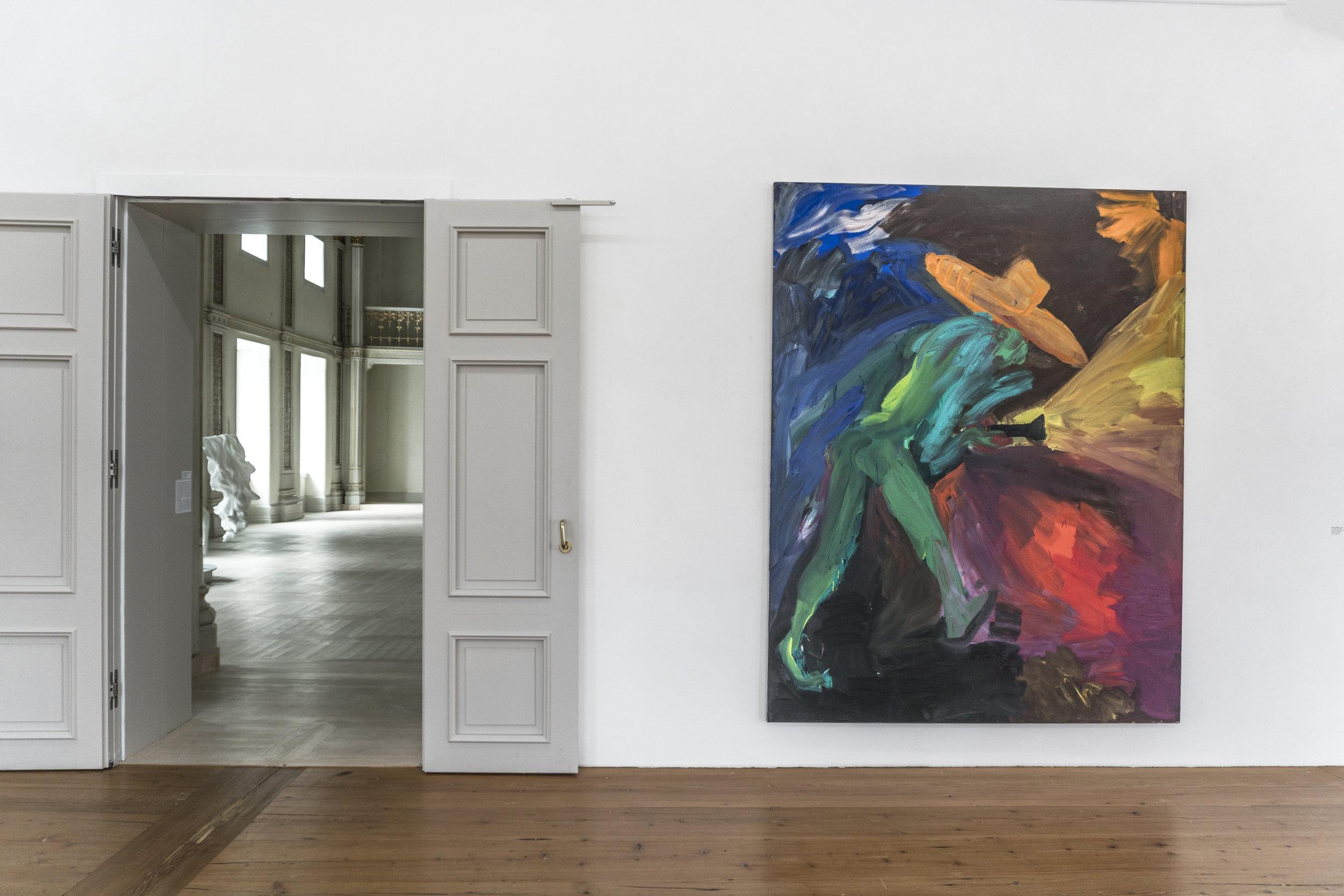 "Rainer Fetting  : ""Van Gogh with Lamp"" (1983)"