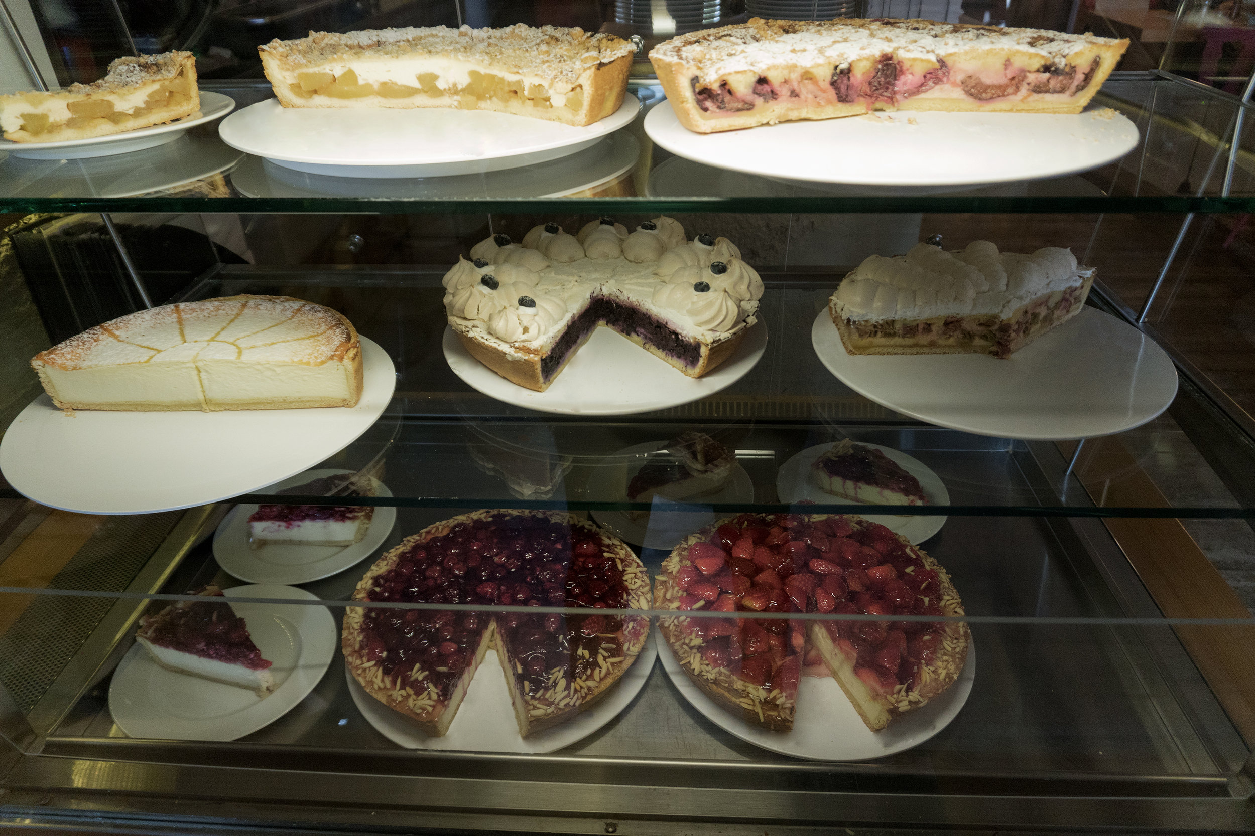 gâteaux, forêt noire, die Scheune