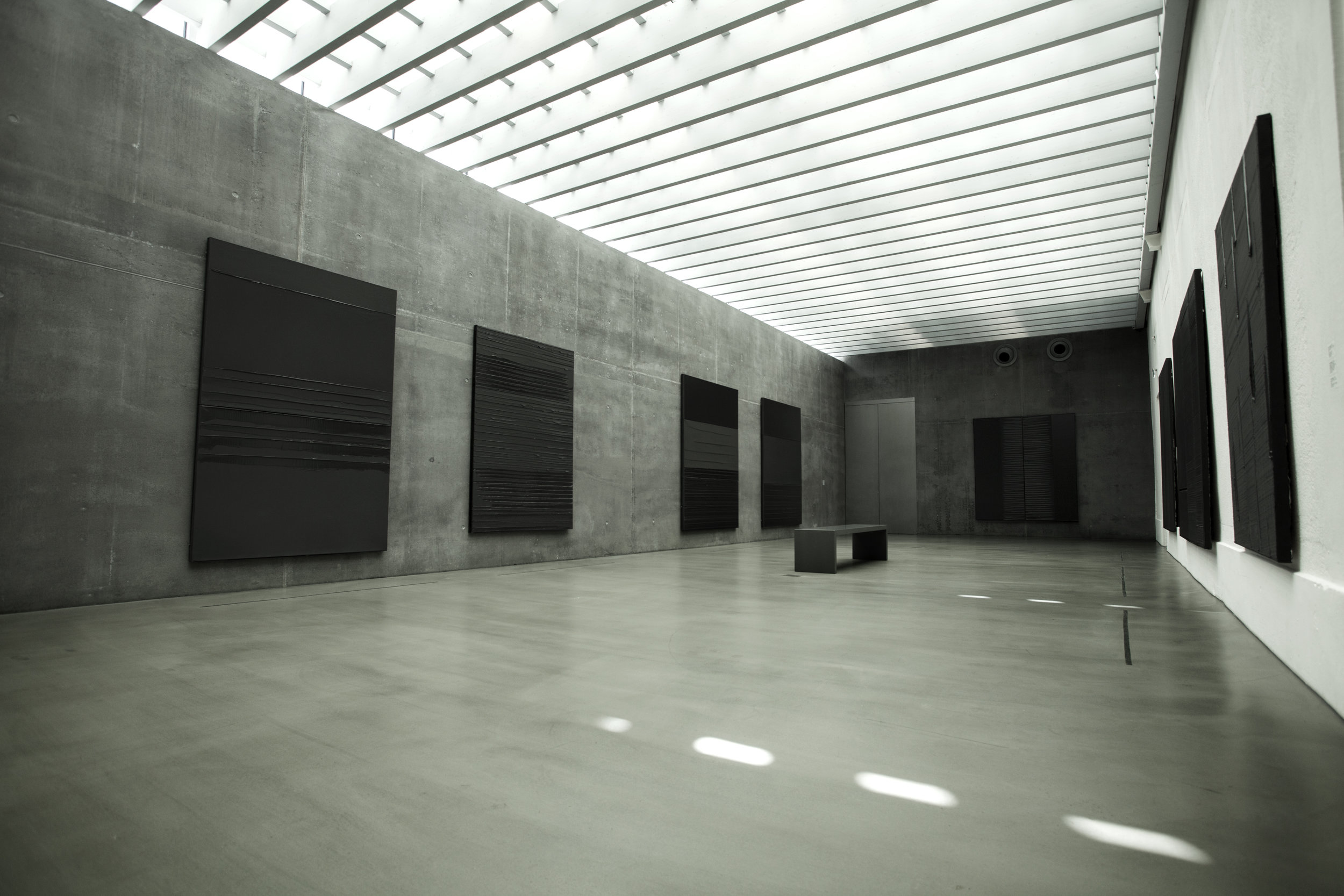 Pierre SOULAGES - A Chapel of Light as an Ode to Black