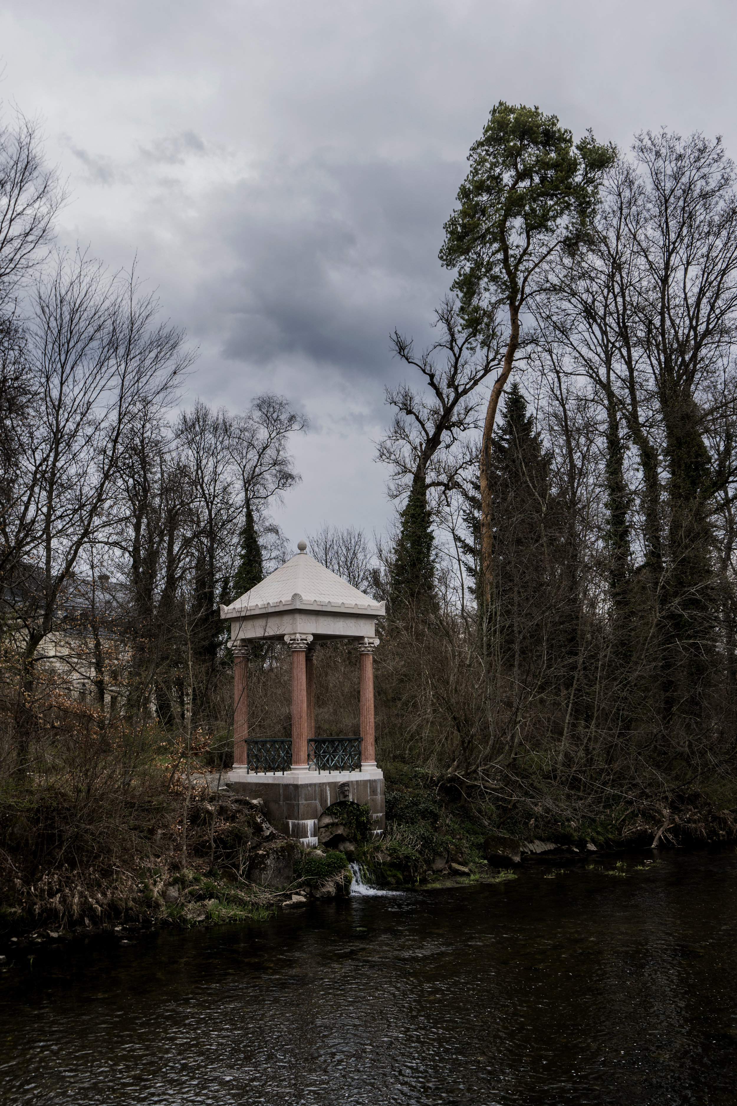Monument dedicated to the mythical source of the Danube - built by order of Kaiser William II of Prussia at the end of 19th century.