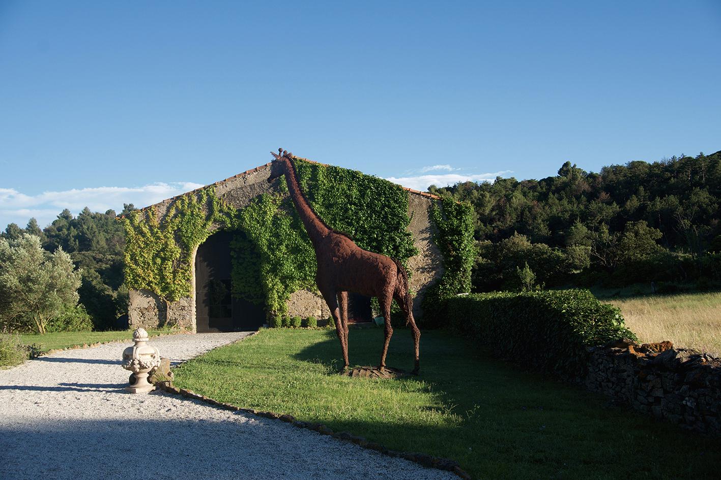 Château de Villarlong,, jardin, giraffe net.jpg