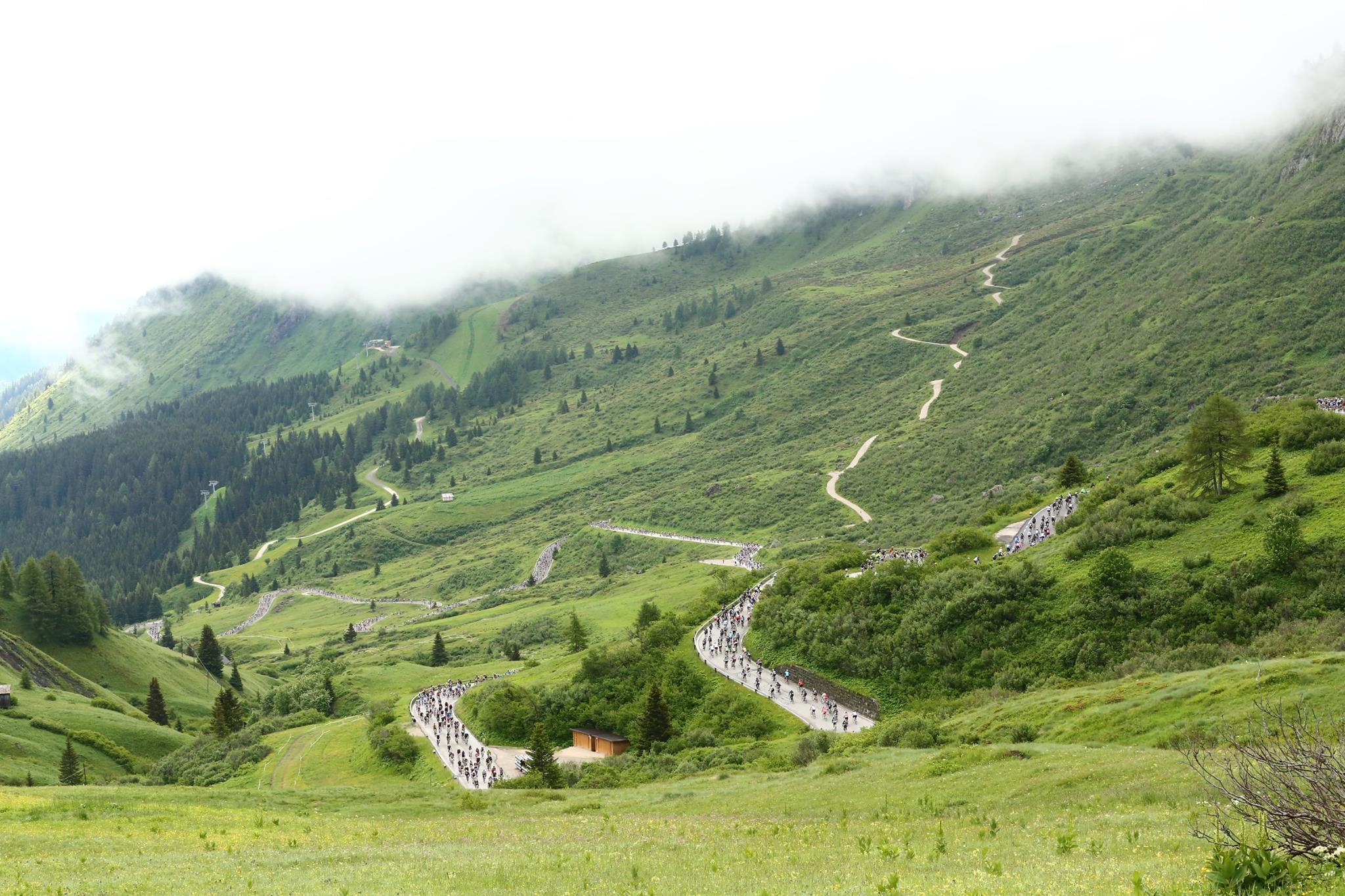 Maratona dles Dolomites. Photograph: Sportograf.com