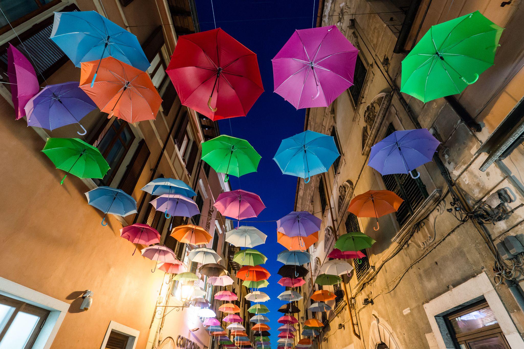 Pietrasanta, Northern Tuscany in August. Photograph: Simone Orsucci