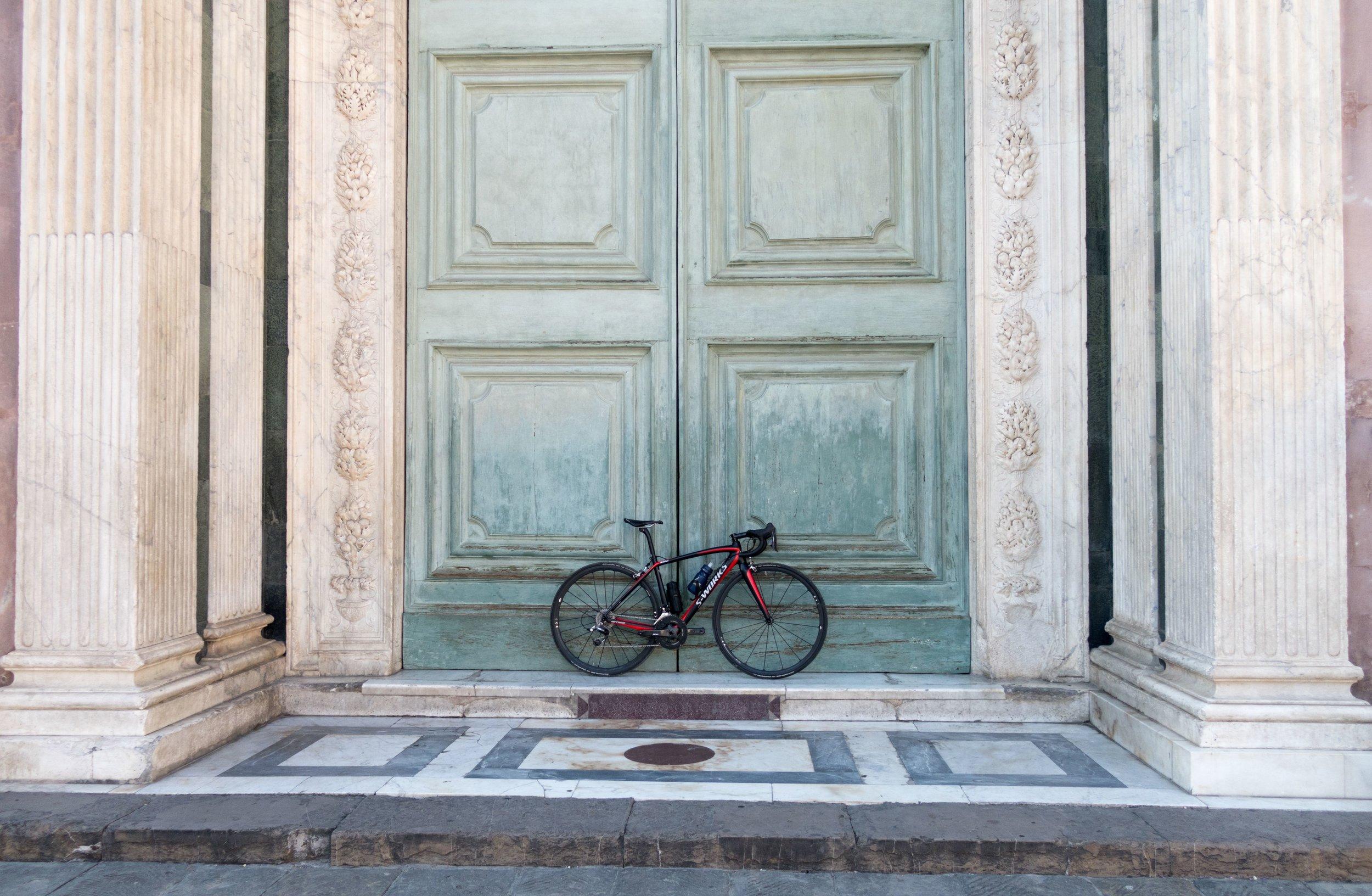 La Basilica di Santa Maria Novella, Florence. Photograph: Alison Testroete