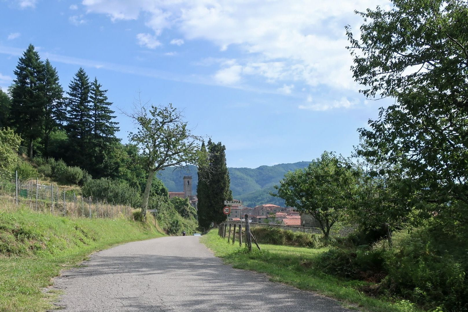 4. Pietabuona @ Macchia Antonini - 25.1km, avg. 3.3%One of many beautiful climbs in the Pistoiese mountains that show how diversified the region is. At 3% and 25 km, it makes for an enduring threshold test but with scenic mountain towns and panoramic views to look at. Once you're though Pescia, it's all about you, the bike and whatever the adventure brings.