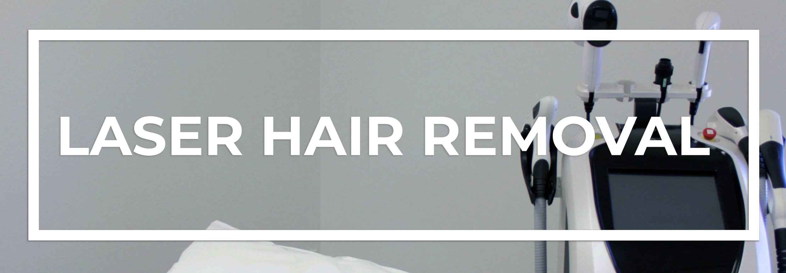 laser hair removal banner