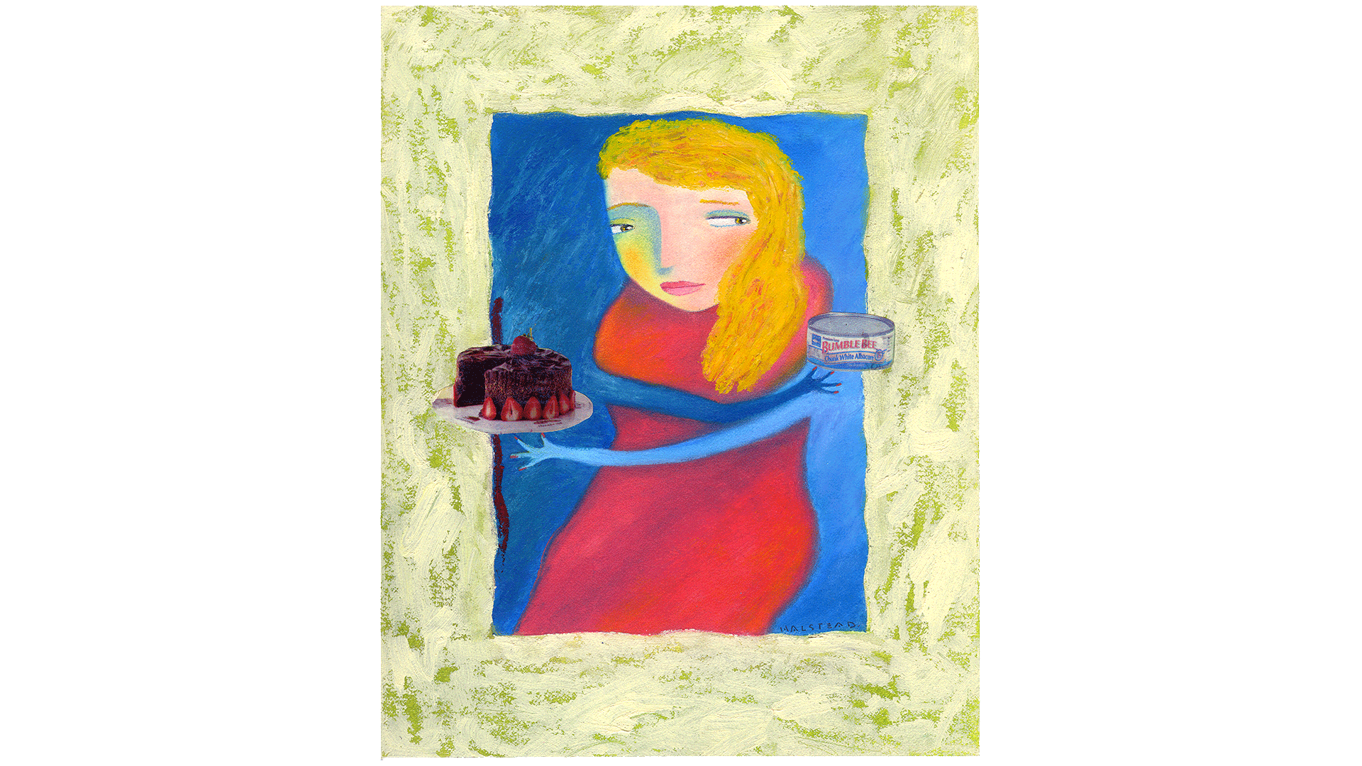 virginiahalstead.com/Paintings/Cake-or-tuna.png