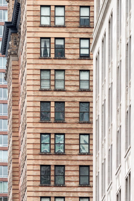 Façades à New-York city - Numéro 6
