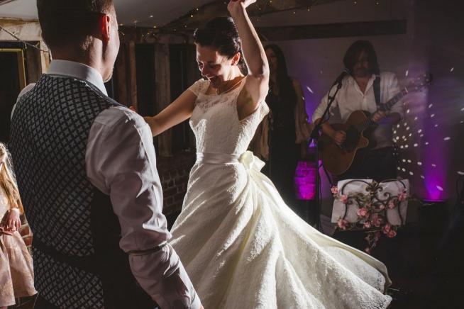 Nicola and Dan dancing