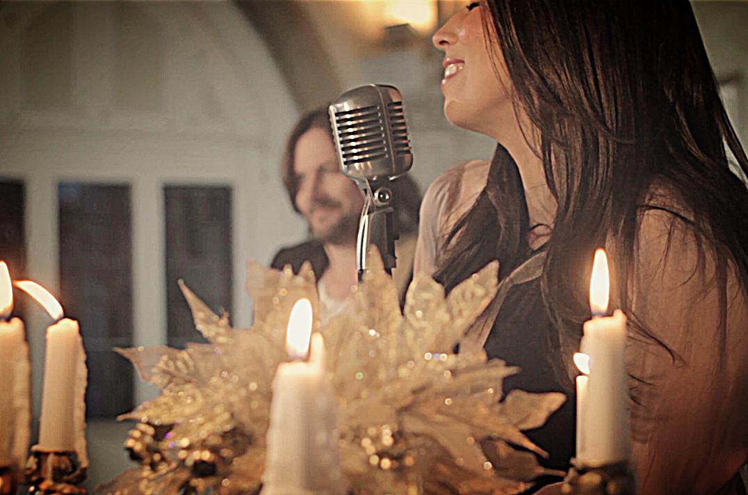Georgia and Michael singing