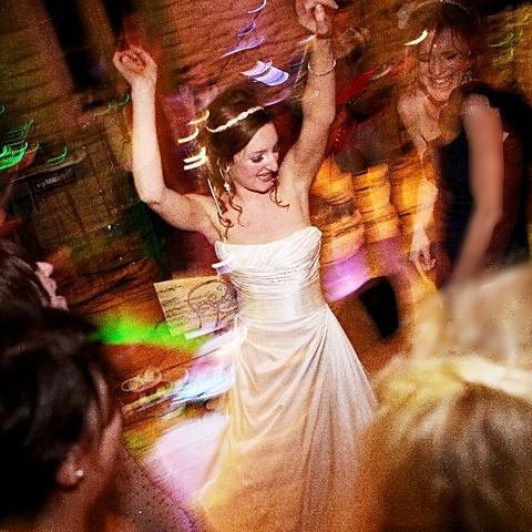 Sarah our happy bride!