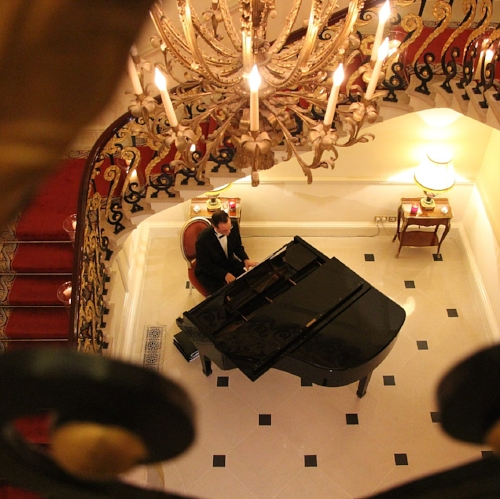 MATT CARTER - EVENT PIANIST & CUPIDS WISH BAND MEMBER. Based in East Anglia.     Website    Matt has played countless weddings with us and we can hand on heart say he is the loveliest human being in the land, as well as being an incredible musician! These days Matt is very busy with his event pianist business and lovely family but occasionally he is still able to join us. It just depends on his availability! He is an incredible pianist and we are so privileged to play with him.
