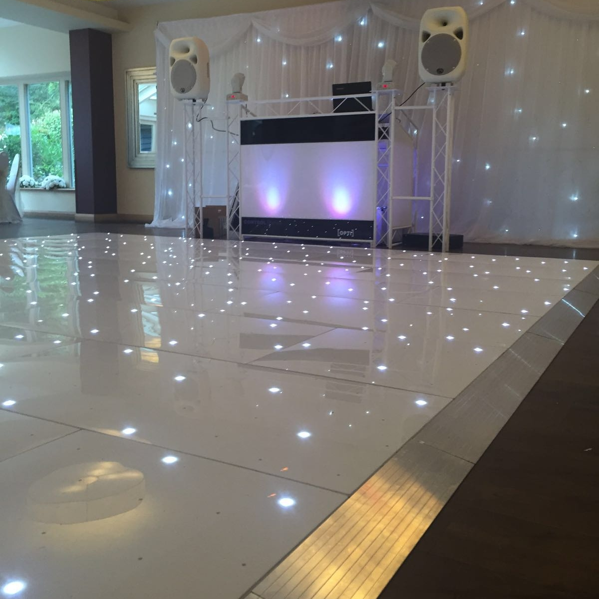 FLOOR FILLER EVENTS. Based in East Anglia     Website    If you're looking for a beautiful dance floor or superb DJ, then we can highly recommend these guys. We've had the pleasure of working with Ash who is a fantastic DJ with a very lovely personality. What we like about working alongside Ash specifically, is how thoughtful he was in making sure he didn't play any songs we were going to play. Also, we love that he encouraged guests to request their favourite songs and nothing was too much trouble. He's calm and just an all 'round great guy! I'm sure the rest of the team are equally as fab too!