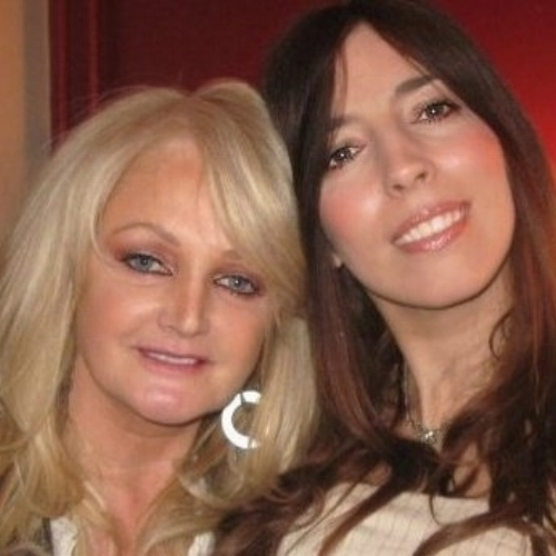 "Bonnie Tyler    ""Georgia your voice is incredible! You sound just like your Mam! Amazing what you've got there with Michael and so proud of you darling!""    Although we're not biologically related, I grew up knowing this gorgeous lady as my Auntie Gaynor! Gaynor (Bonnie) and her sister Avis who is equally as brilliant at singing, were my beautiful late Mum's besties!"