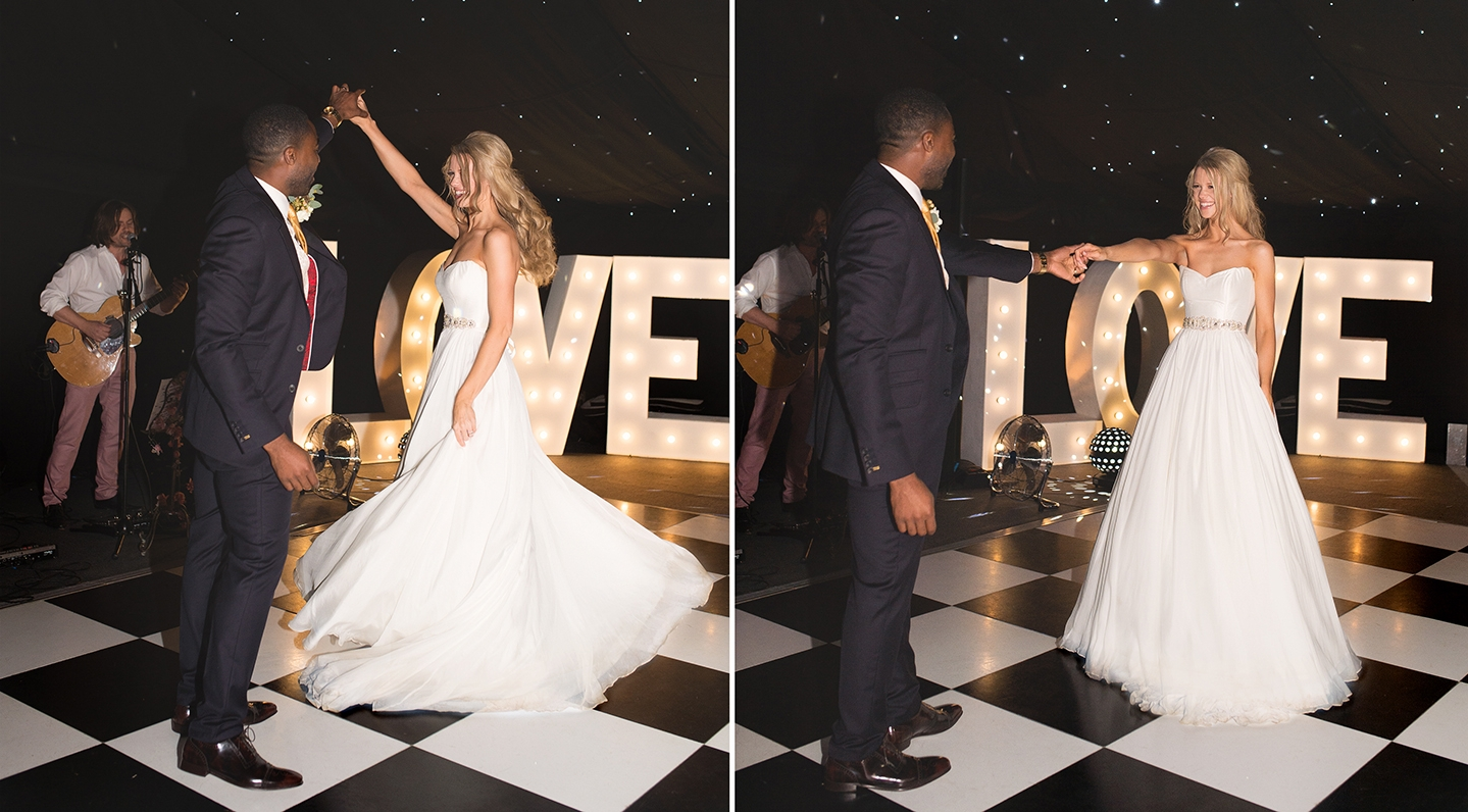 Ore and Portia's First Dance. Photo Credit - Katie Ingram.