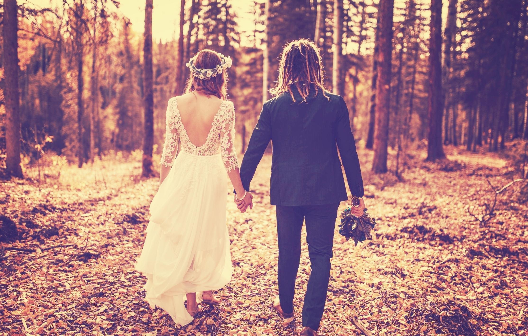 The wedding folk!