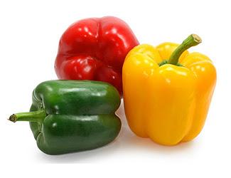 sweet Bell Peppers. .50c Each.