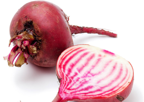 Candy-cane Beets. .50c Each.