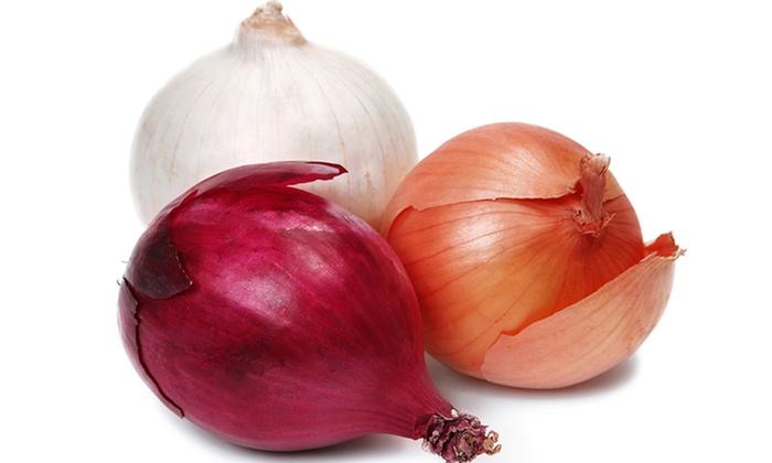 Onion Varieties. .50c Each.