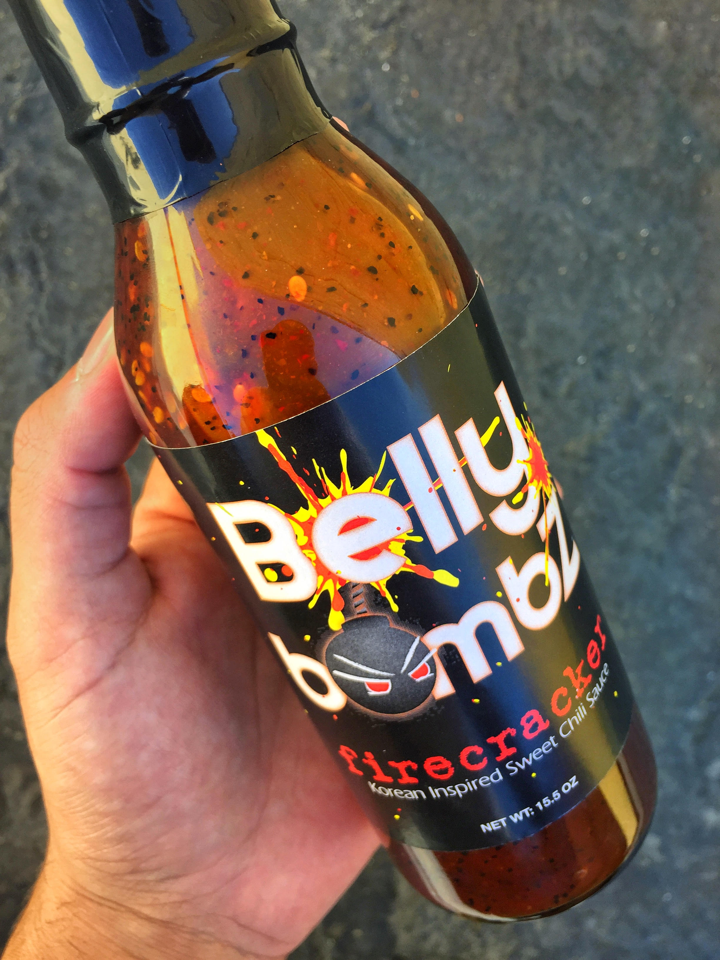 Belly Bombz Firecracker - Your favorite sweet and spicy Korean inspired dishes, all made with one sauce!Originally used as a traditional Korean Fried Chicken sauce on our food trucks and at our Southern California restaurants, Belly Bombz