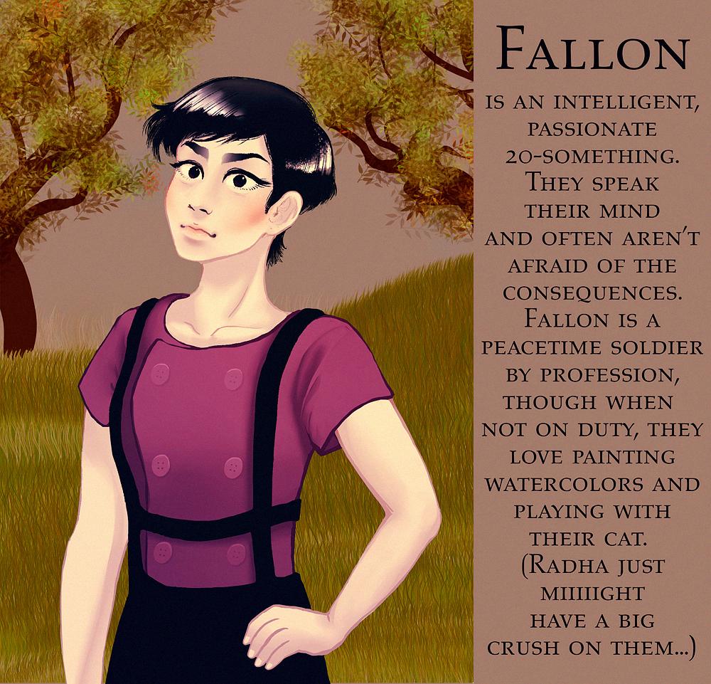 Fallon character design