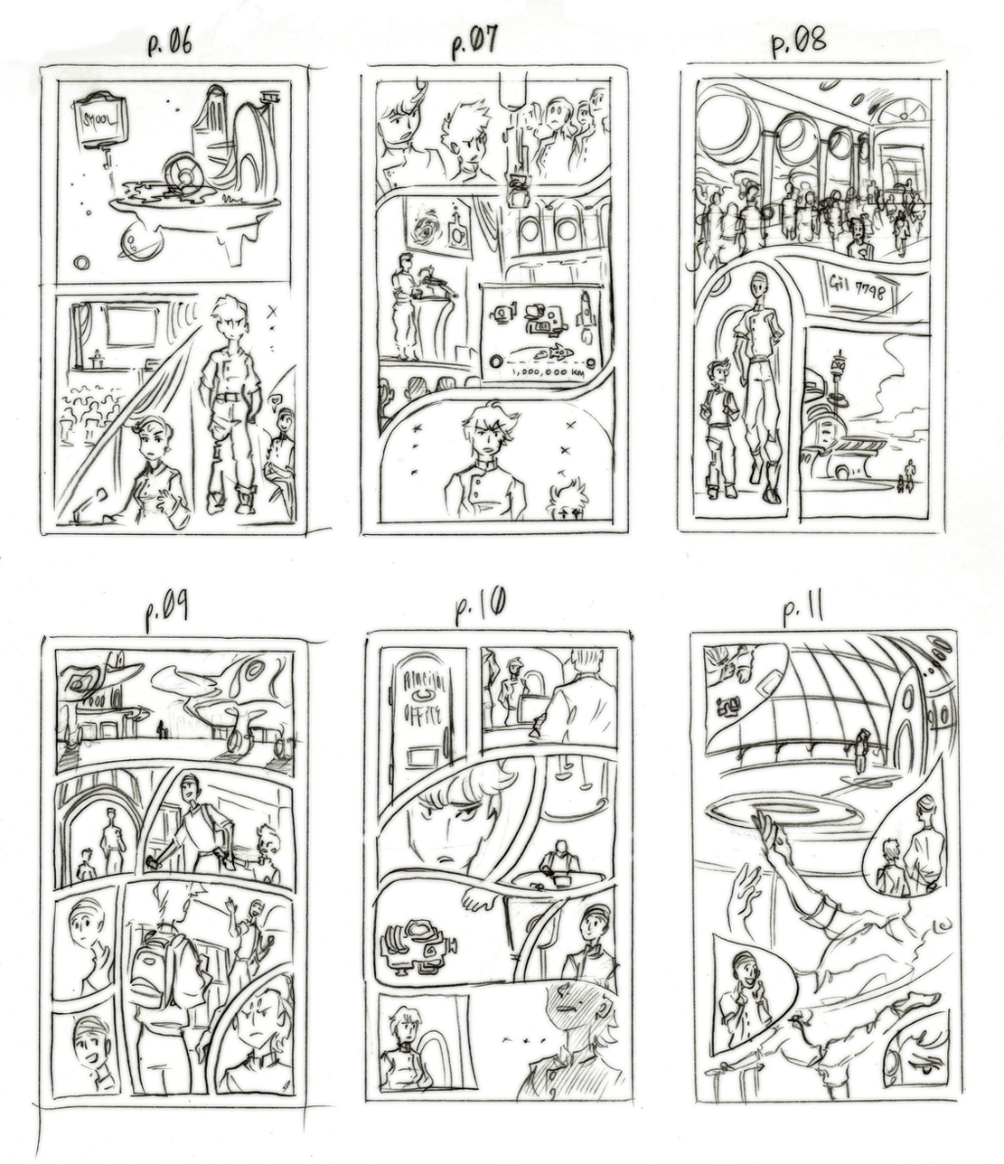 thumbnails for broken cadence