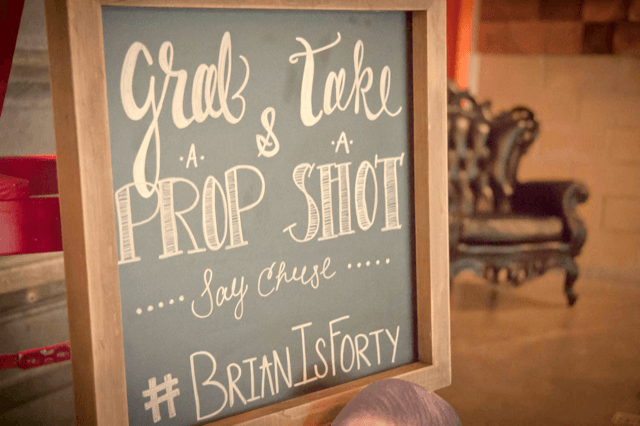 BRIAN'S FIRST 40! -