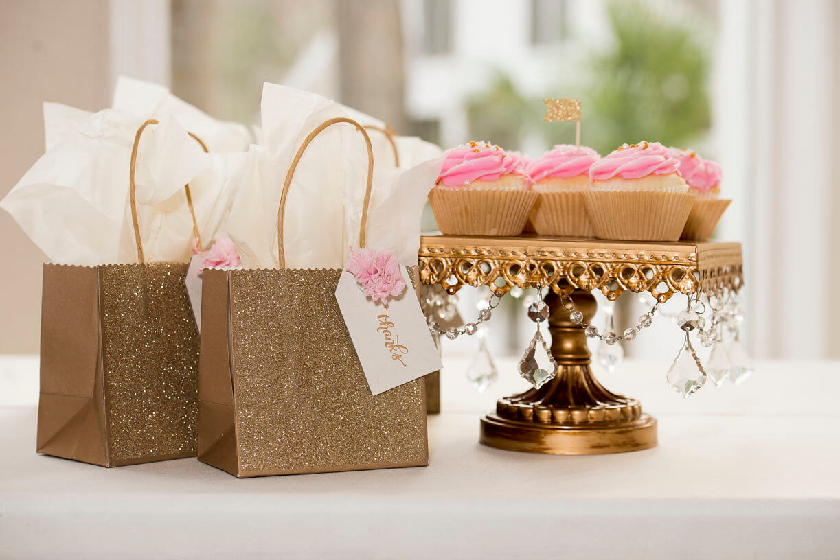 Pink & Gold party for Two -