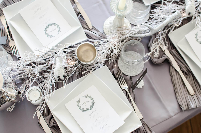 A Winter Wonderland Bridal Shower Inspiration Mint Event Design