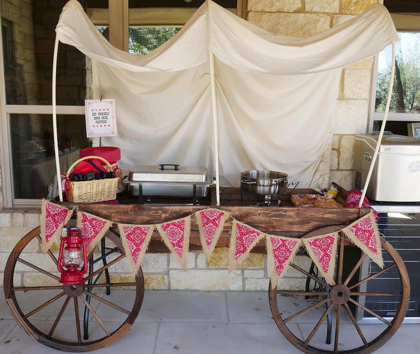 Wild Wild West Party Wagon