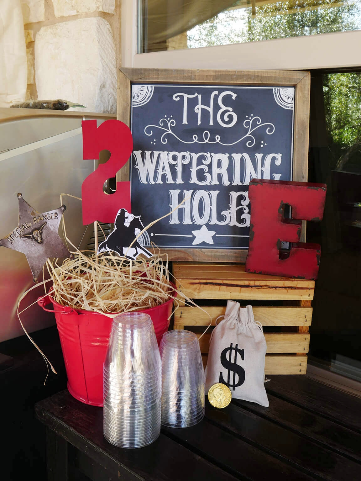 Watering Hole Drink Station