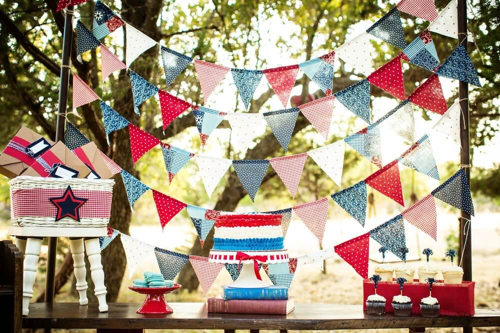 4th of July dessert table idea