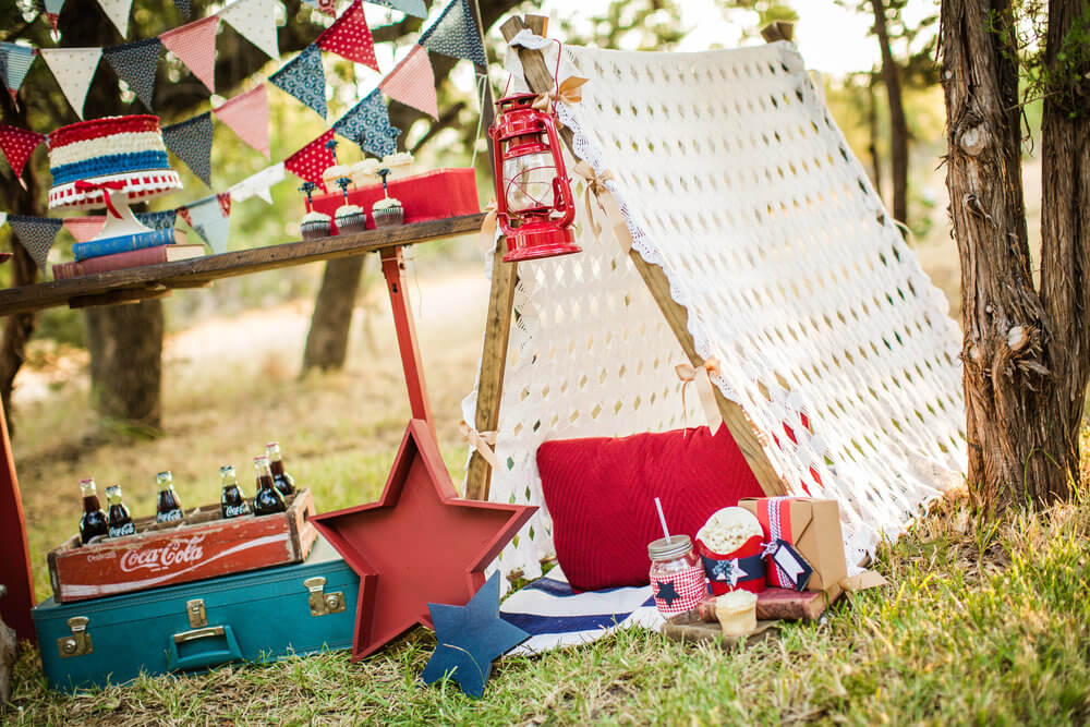 Cute teepee ideas and set up
