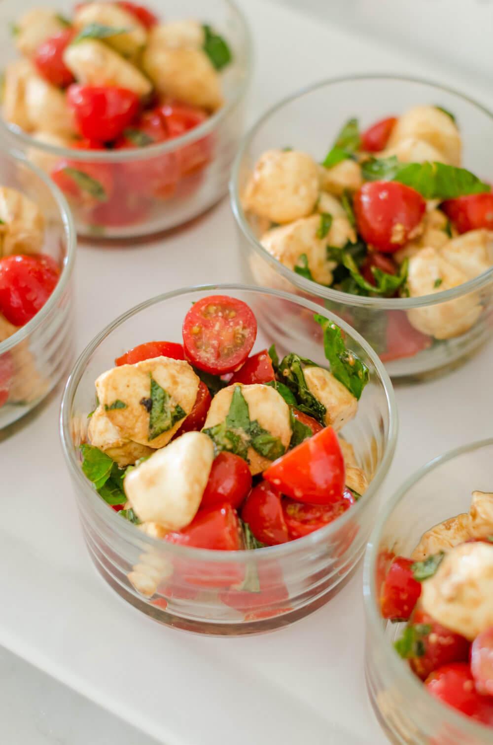 caprese salad serving idea