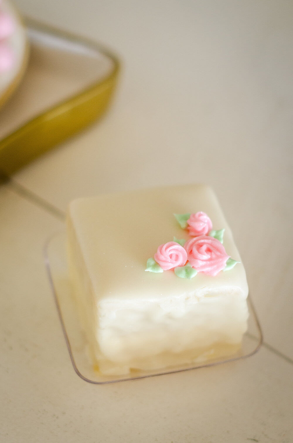 Petit Four for bridal shower